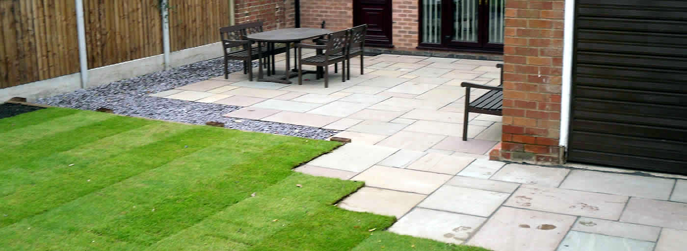 patios and garden paving Dorset, Wiltshire and Hampshire